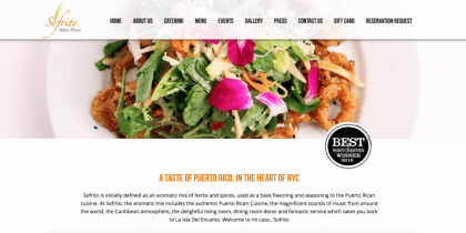Sofrito White Plains' home page