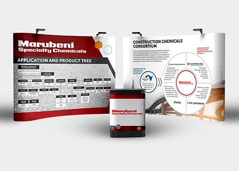 Print/advertising work for Marubeni Specialty Chemicals