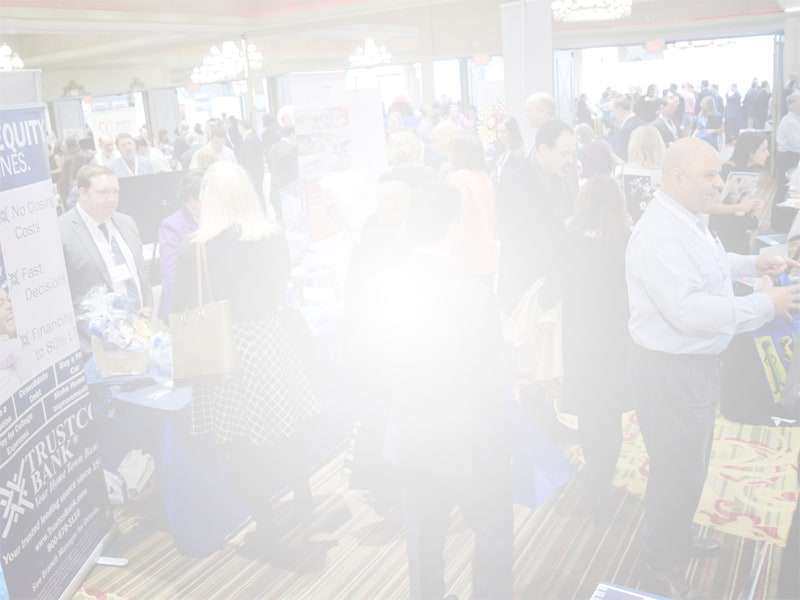 People at the Westchester Business Expo